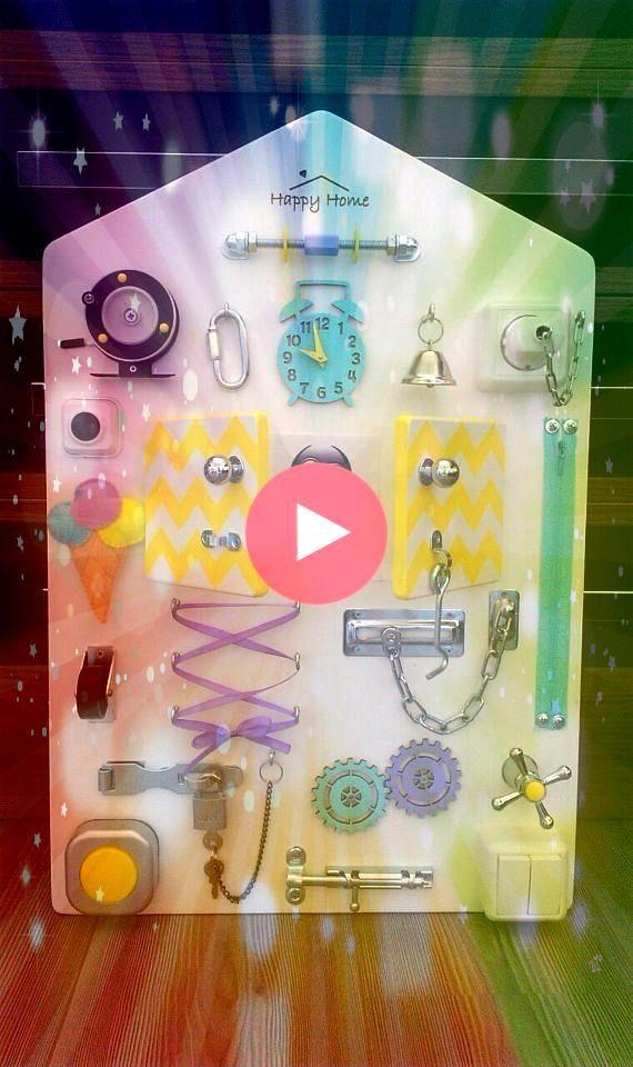 Board Sensory Spielen Sensory Game Personalisierte Kindergeschenk Benutzerdefinierte Bab Busy Board Sensory Spielen Sensory Game Personalisierte Kindergeschenk Benutzerde...