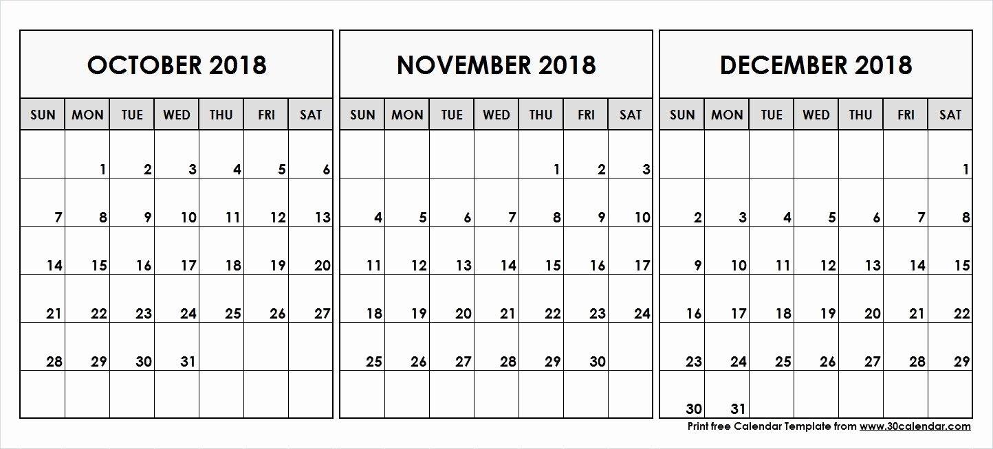 December 2018 Calendar South Africa November Calendar December