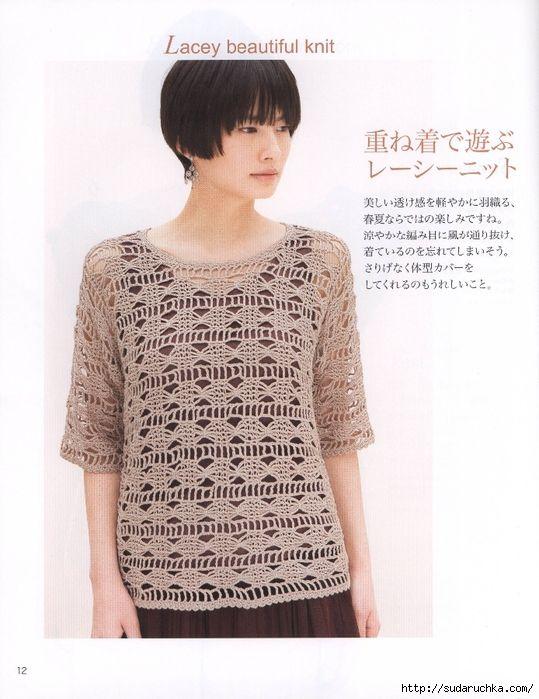 31 modelo de ropa de punto para las mujeres.\