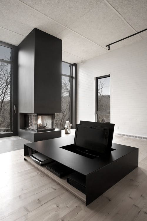 1) Tumblr Interior Pinterest Diseño minimalista, Mueble tv y - mueble minimalista