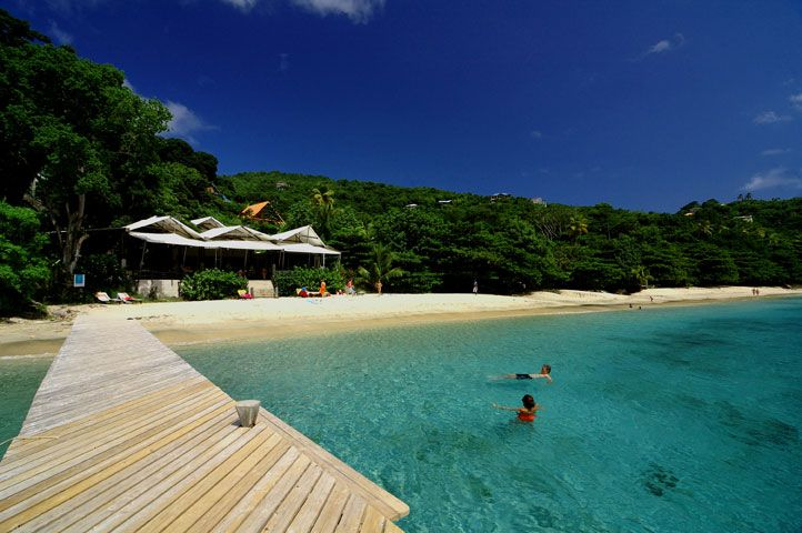 Jack S Bar Princess Margaret Beach Bequia St Vincent And The Grenadines