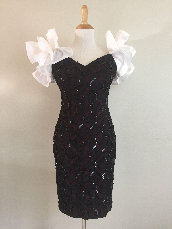 Us prom dress black sequin dress us mini dress ugly