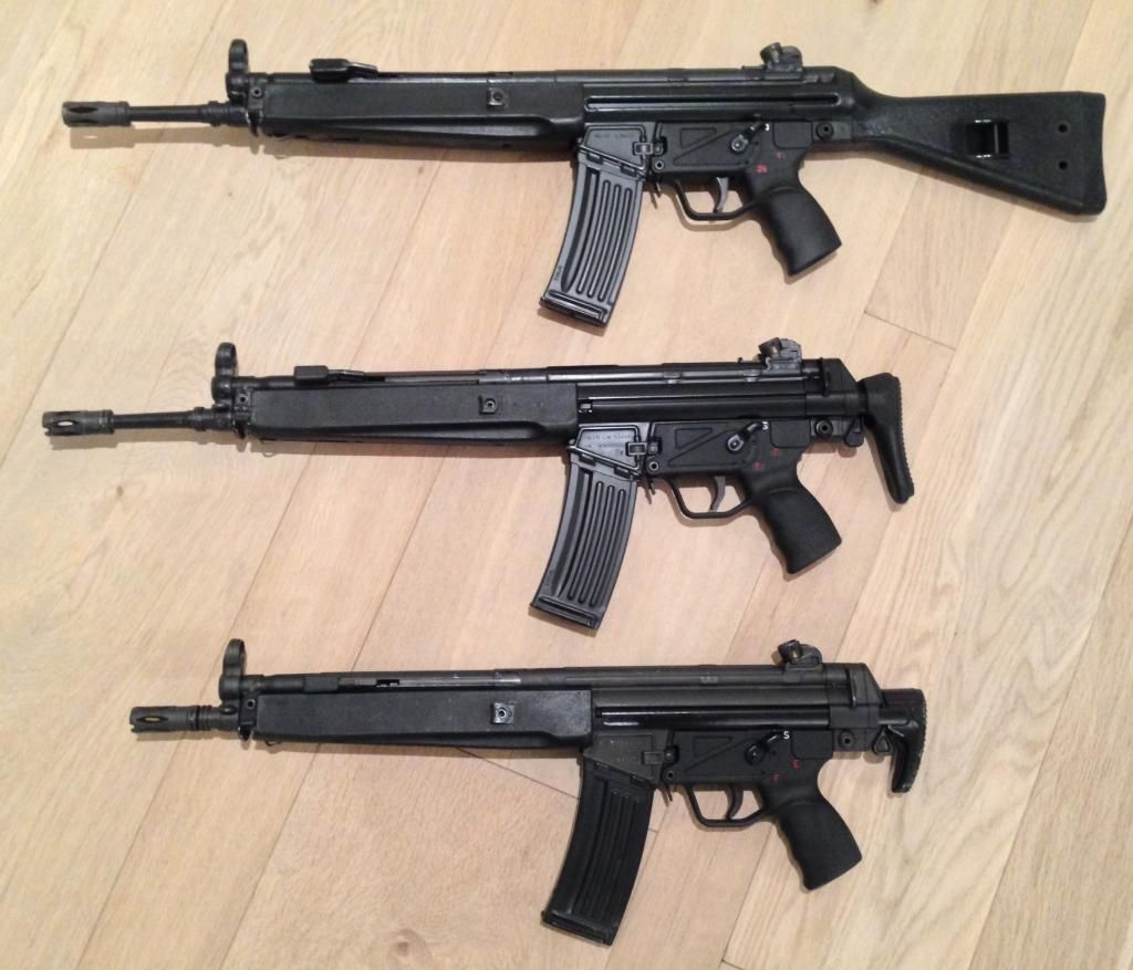The HK33 Family: HK33A2 (Fixed stock), HK33A3 (Retractable ...