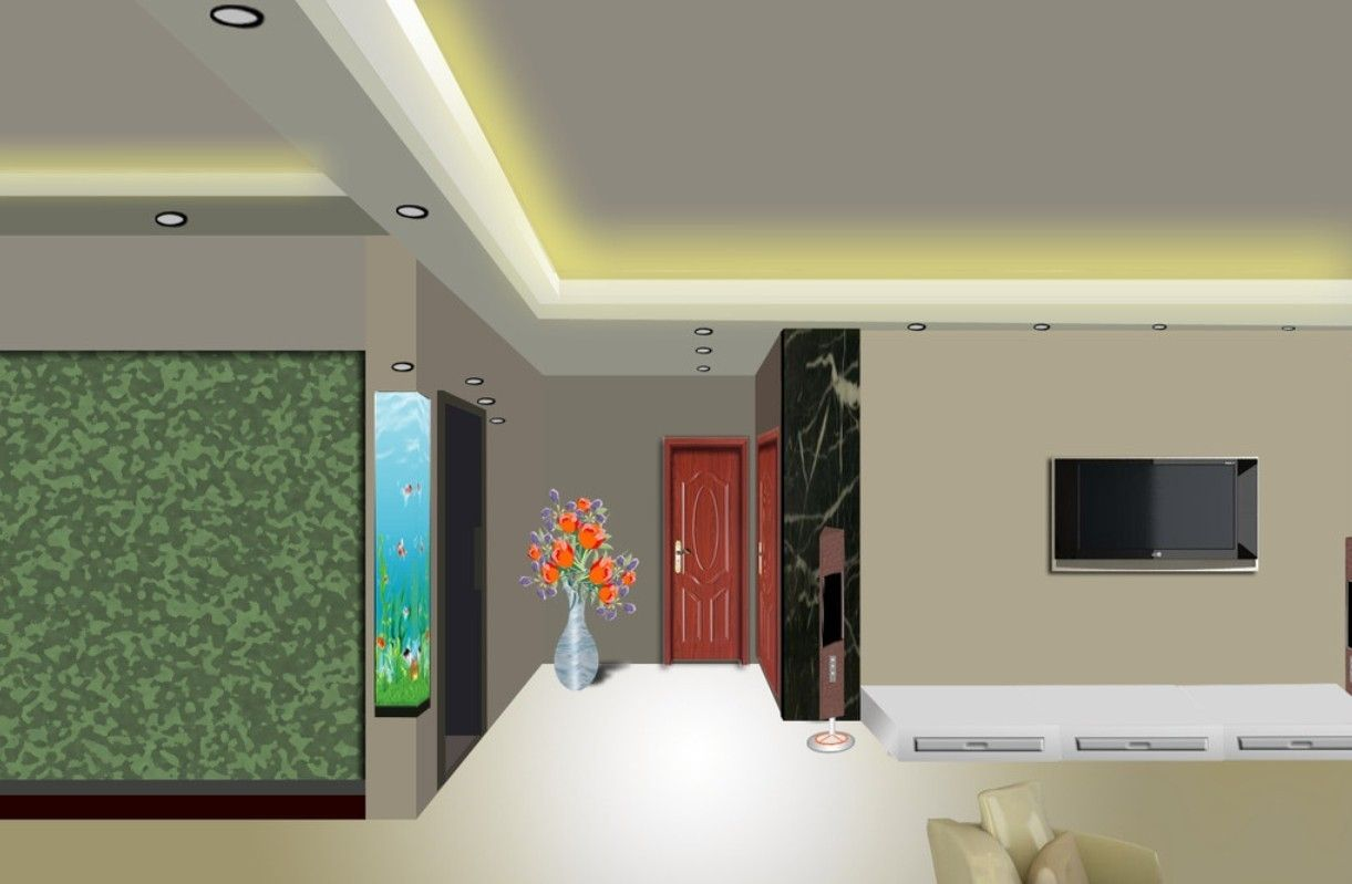 False Ceiling Designs For L Shaped Living Room Finest False Ceiling Design  For L Shaped Living Part 84