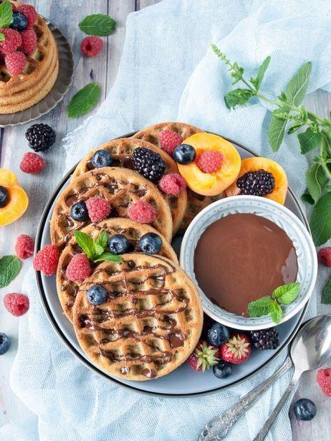 Zablisztes gofri recept - Low carb snacks, Recipes, Food