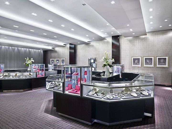 Tiffany U0026 Co. Jewellery, Las Vegas Store Design