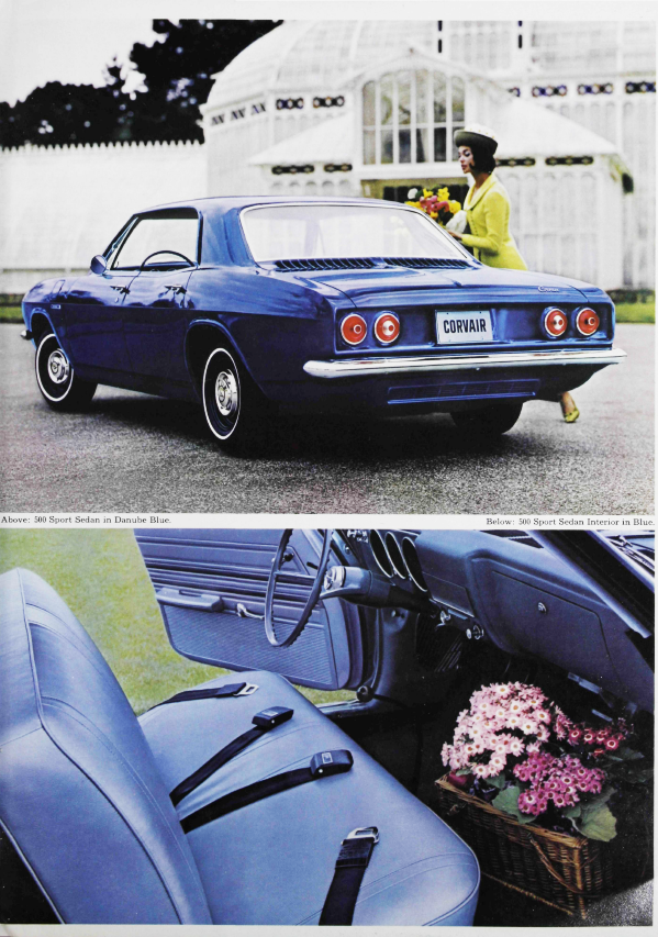 Corvair, Rear-Engine Fun Car Built the Chevrolet Way, 1966. General