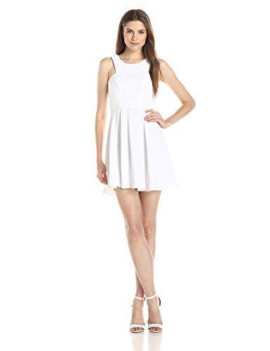 BCBGeneration Womens Chiffon Contrast Dress