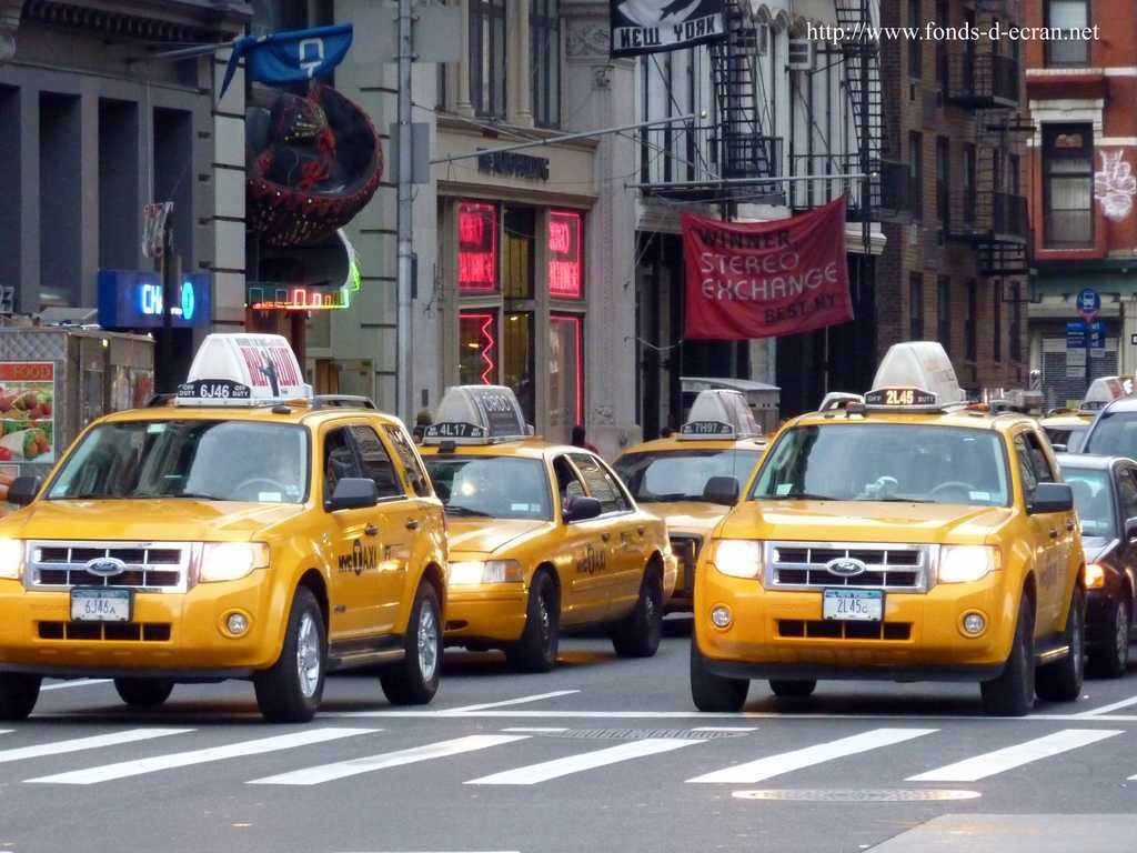 Transportation In Ny Fond D Ecran Transports Taxis De New