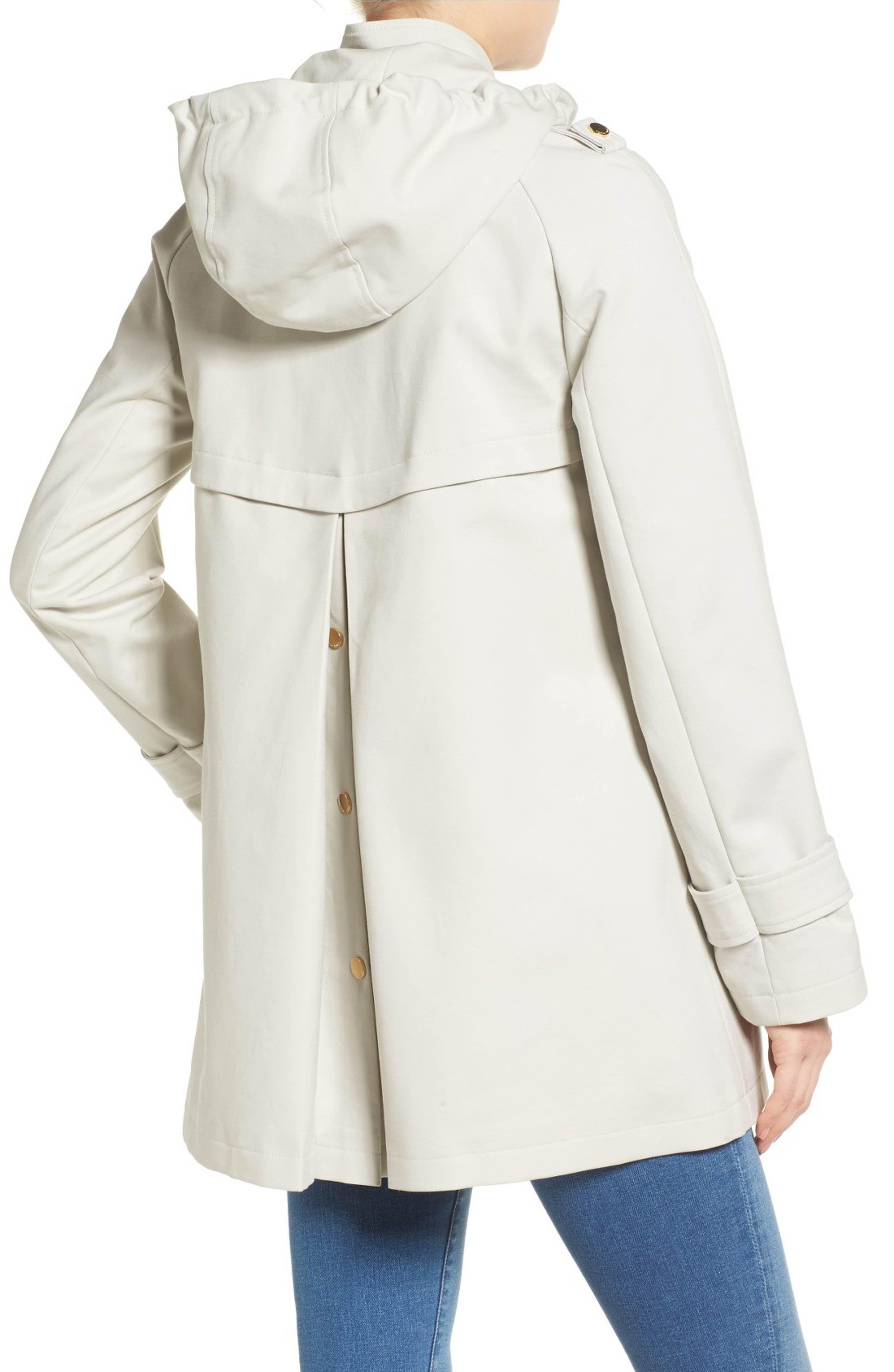 Hmarkt Mens Cotton Winter Hooded Thicken Faux Fur Collar Outwear Fleece Lined Drawstring Jackets