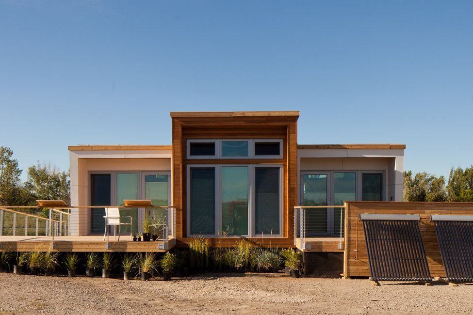 Borealis was designed for housemates, with two private suites sharing a kitchen and bath.