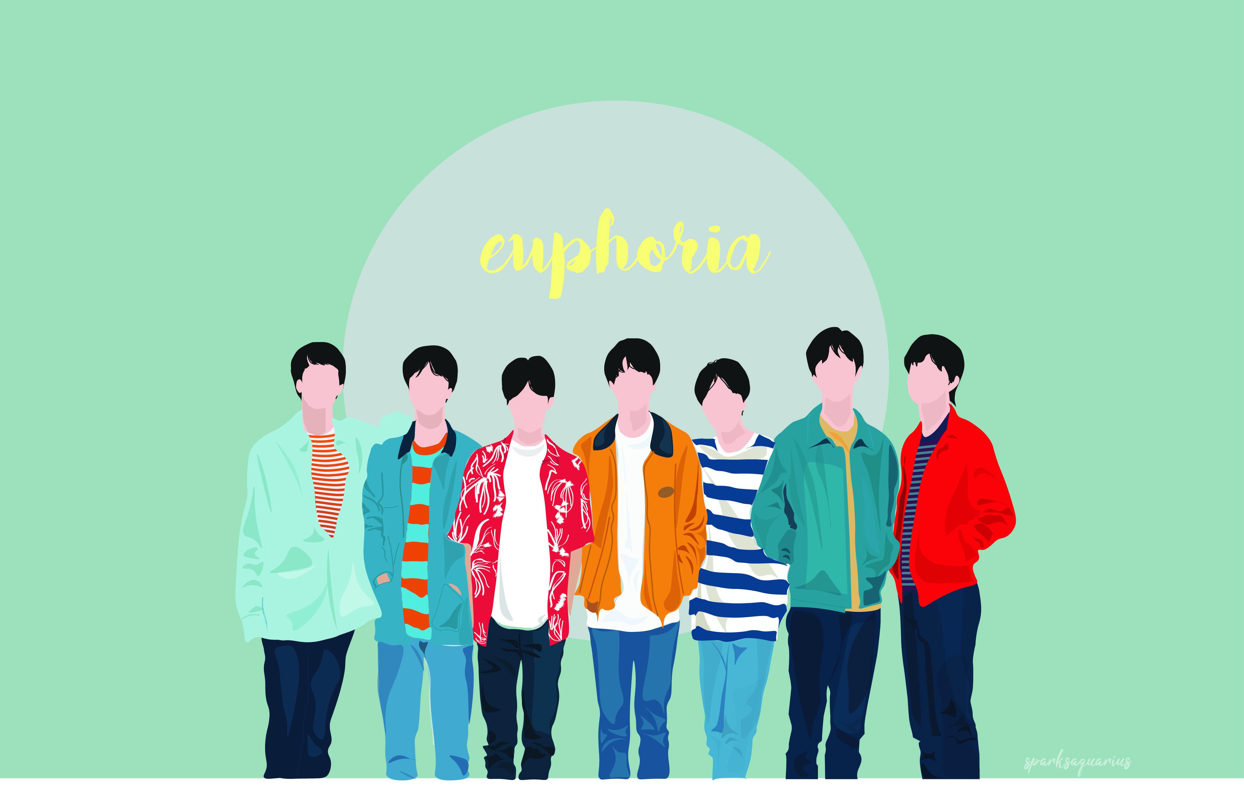 Bts Euphoria Vector Bts Bangtanboys Vector Wallpaper Lockscreen Jimin Taehyung Rapmonster Jin Jhope Suga Jungk Bts Fanart Bts Wallpaper Wallpaper Bts euphoria wallpaper desktop
