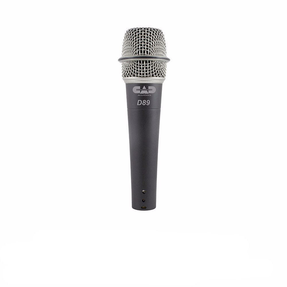 CAD Audio D89 Dynamic Handheld Instrument Microphone