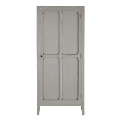 armoire en manguier gris l 75 cm pensionnat maisons du monde