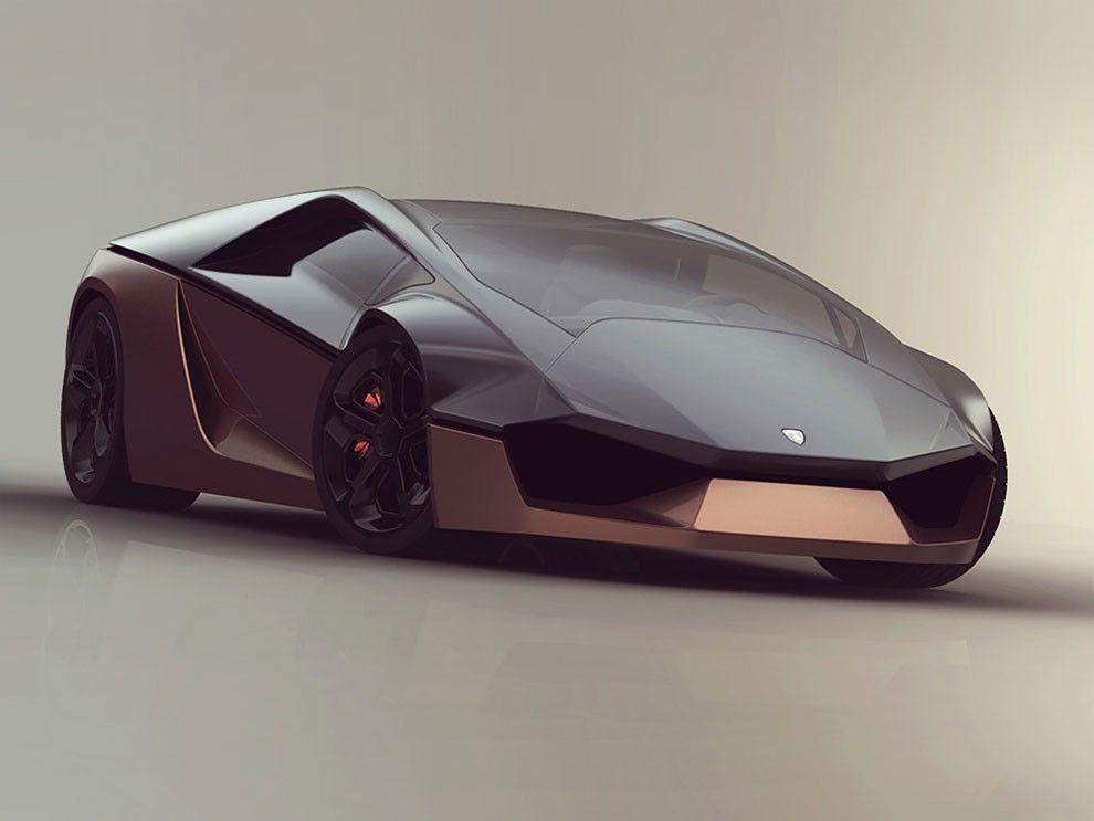 Fantastic Lamborghini Ganador Concept by Mohammad Hossein Amini Yekta