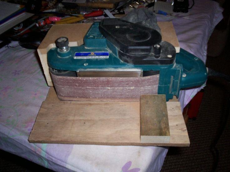 Belt Sander Vertical Cradle Belt sander