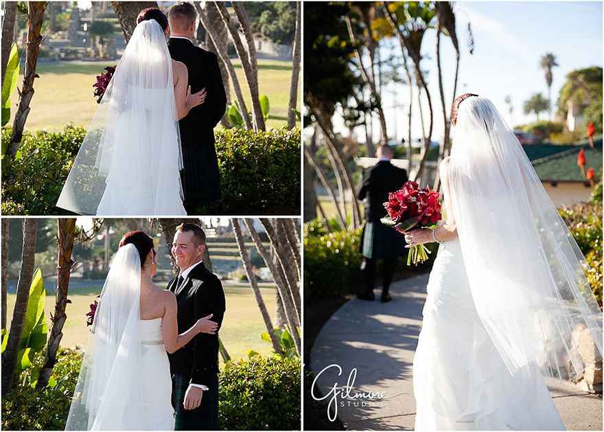 Michael Jennifers Laguna Beach Wedding Heisler Park Kilts Heels