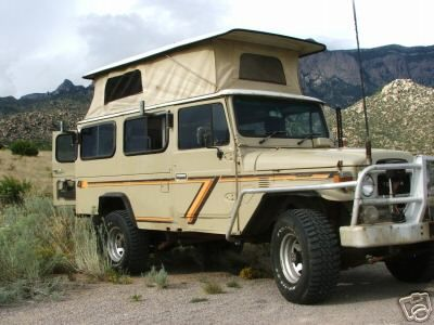 Craigslist Seattle Cars By Owner >> 1984 FJ45 Troopy camper conversion. Sleeps two on top, RHD ...