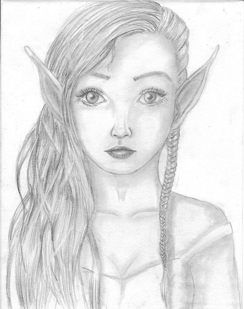 Elfe by melnina34.deviantart.com on @DeviantArt