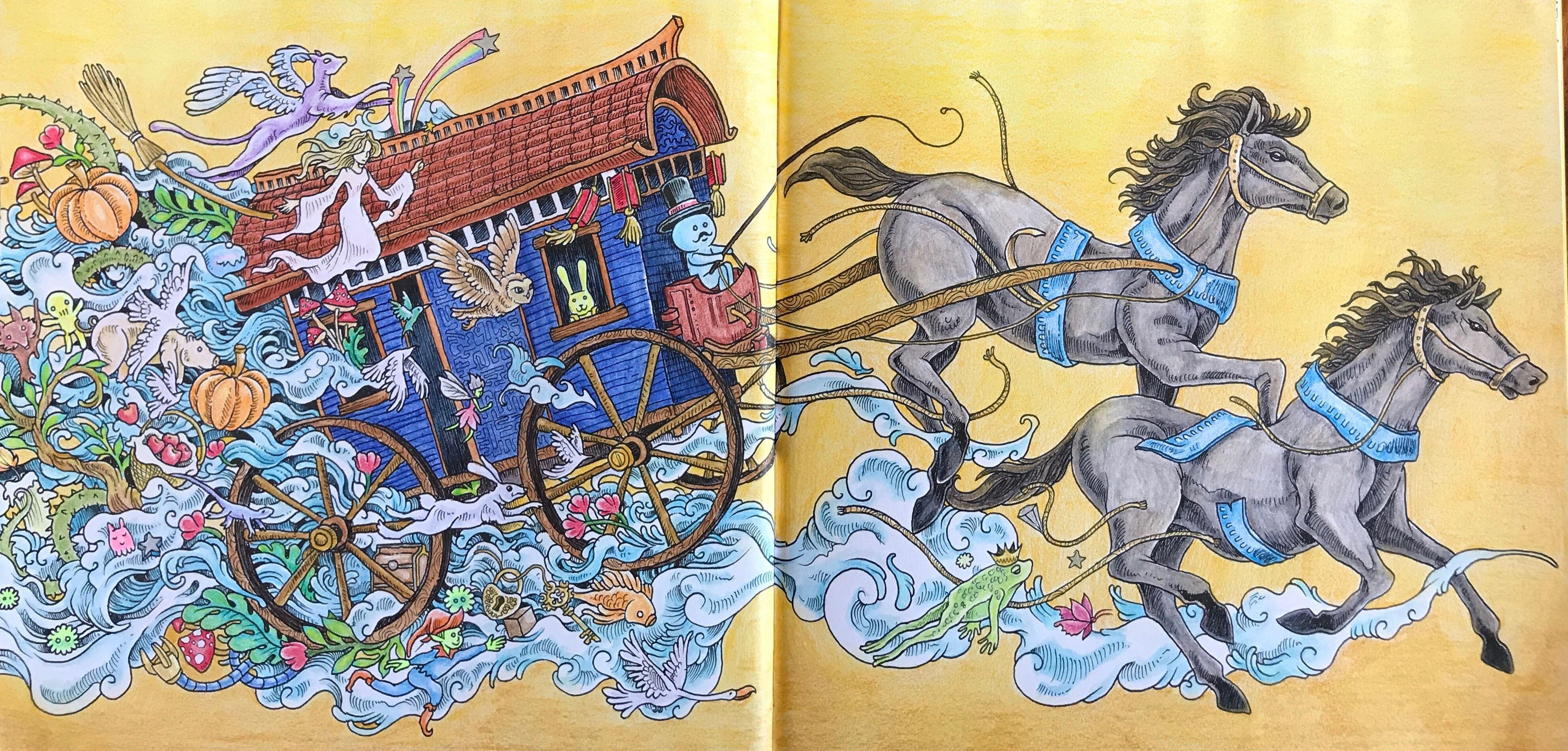 Imagimorphia horse and carriage