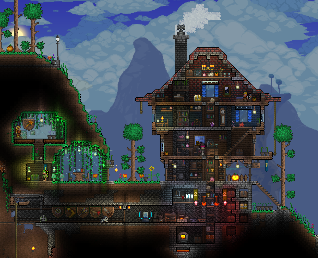 How To Build A Basic Home Terraria