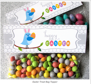 Free printables free printablescollages pinterest free frugal life project free printable easter treat bag topper and tags negle Choice Image