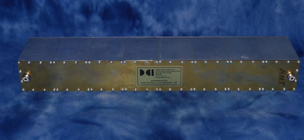Dci Bandpass Filter 51mhz Center Frequency 2mhz Bandwidth 1995