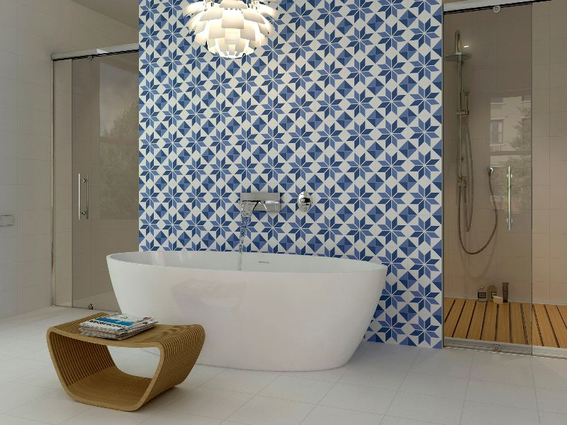 Aparici Vanguard System Spanish tile seen at Cevisama 2014. Tile of Spain  reveals design trends