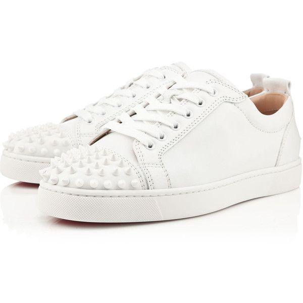 Christian Louboutin Zapato de barco blanco