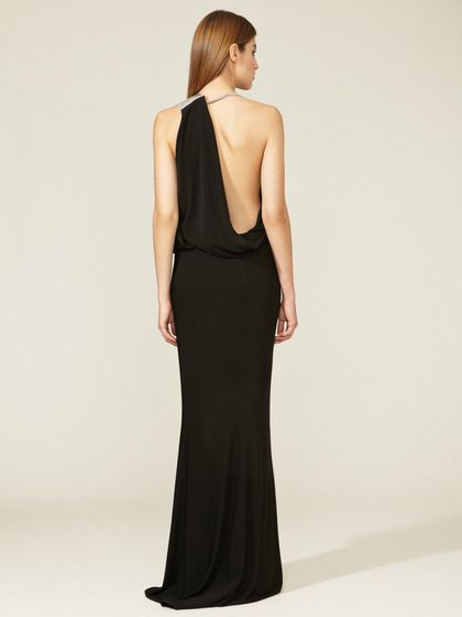 Draping is maybe the best stylistic ploy I've seen. (Jersey Knit Draped Gown | KAUFMANFRANCO)
