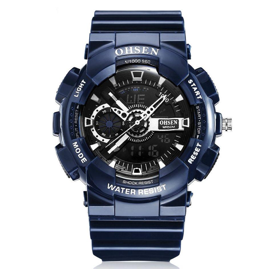 Zegarek Meski Ohsen Katta Darmowa Dostawa Wipp Pl Waterproof Watch Watches For Men Digital Sports Watches