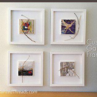 Custom Gallery Frames for needlework