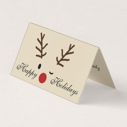Reindeer with gift print custom greeting card set love cards reindeer with gift print custom greeting card set love cards couple card ideas diy cyo m4hsunfo