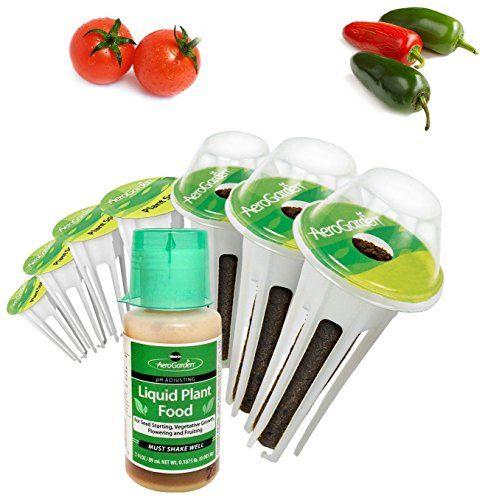 Miraclegro Aerogarden Salsa Garden Seed Pod Kit 7Pod 400 x 300