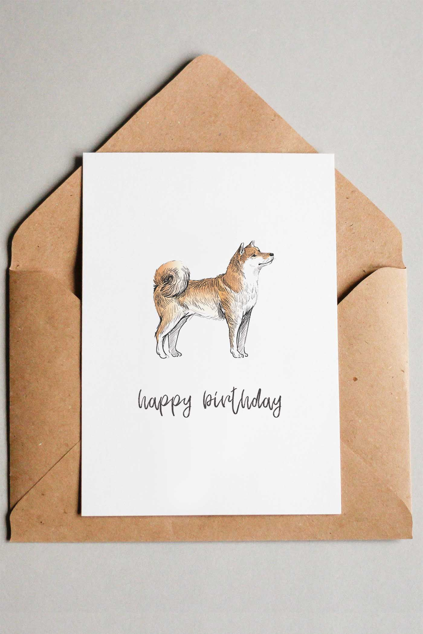 picture about Dog Birthday Cards Printable Free titled 22 totally free printable puppy birthday playing cards Presents Playing cards