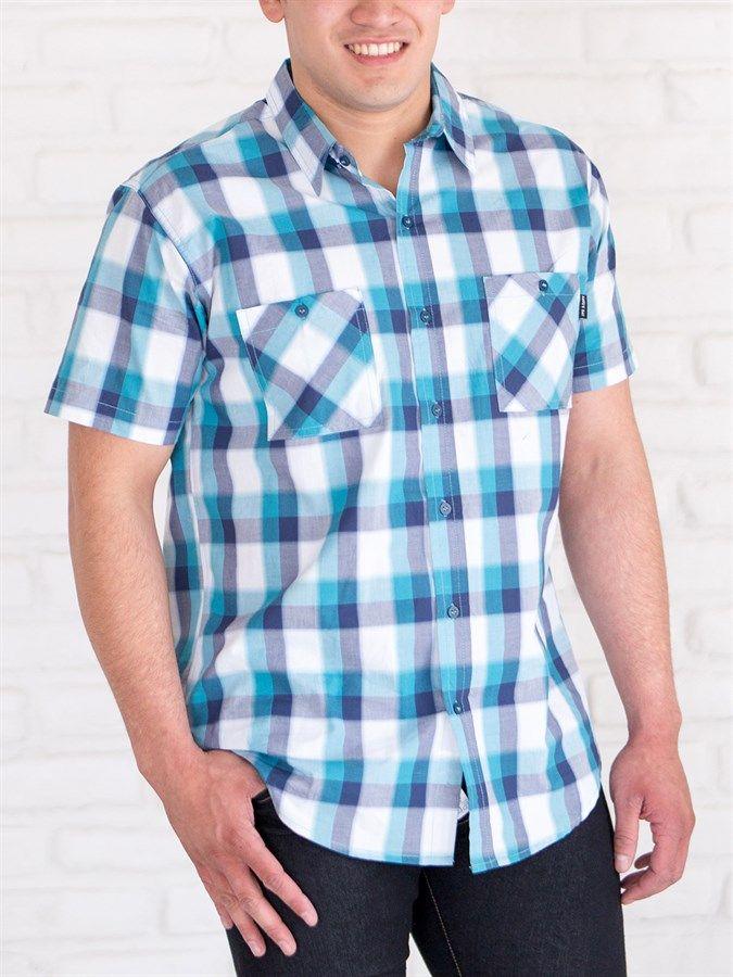 Men's Plaid Button Down Shirt