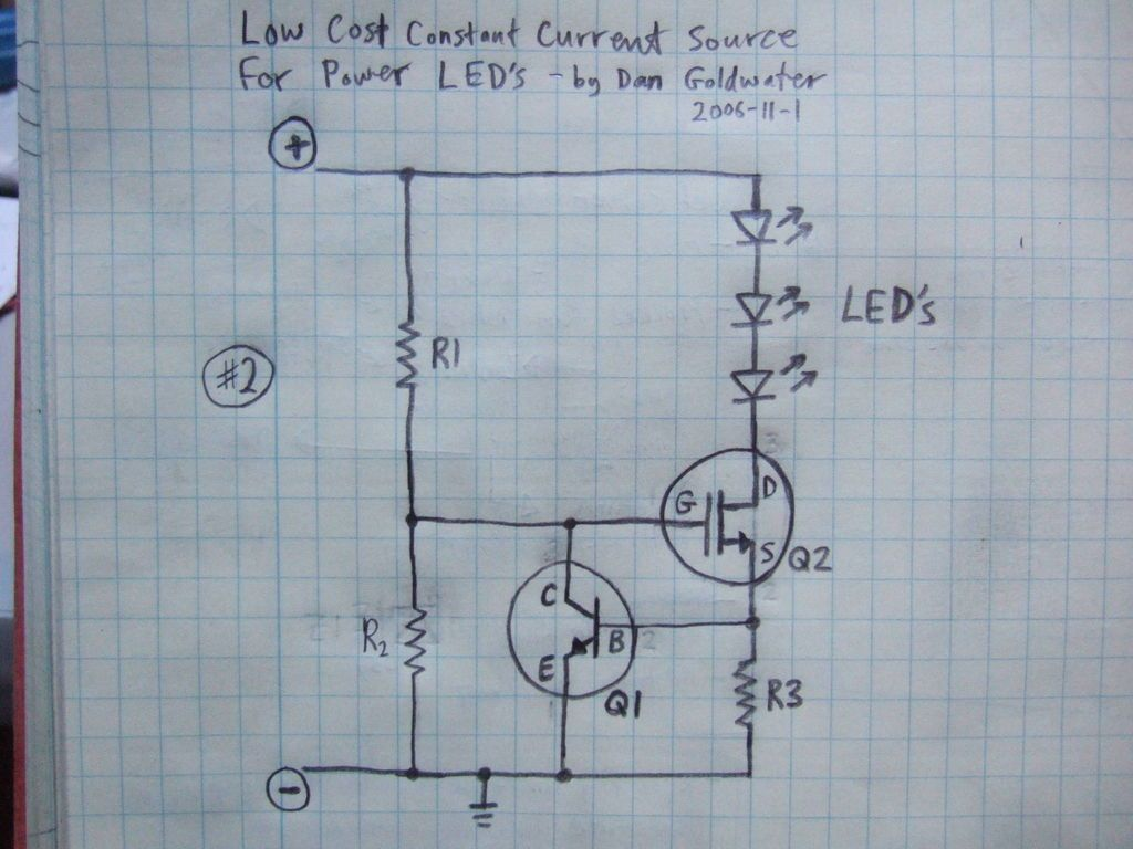 High Power LED Driver Circuits | Circuit diagram