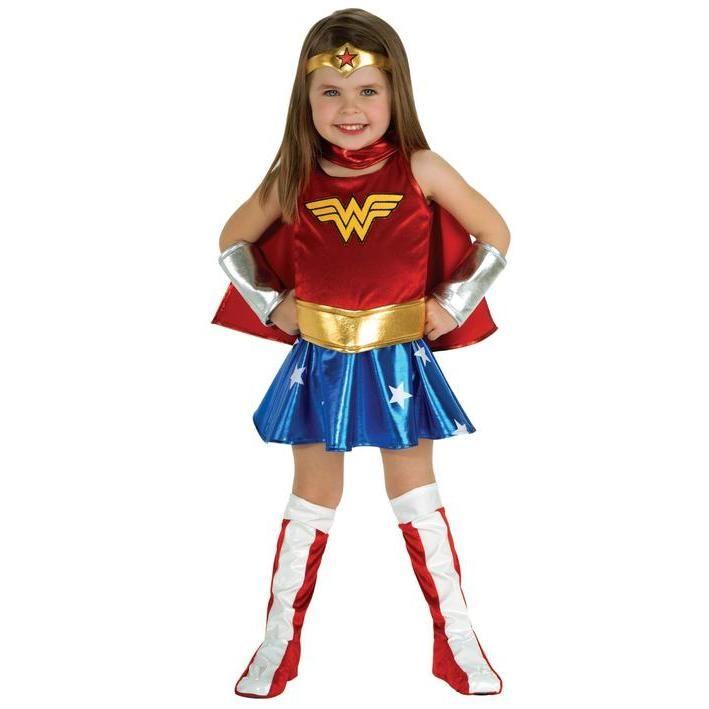 Disfraz De Wonder Woman Deluxe Nina Toddler Costumes Girl Wonder Woman Halloween Costume Wonder Woman Dress