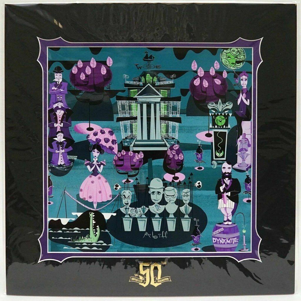 Halloween 2019 Disney Pin Haunted Mansion 50th Anniversary Ghost Hosts