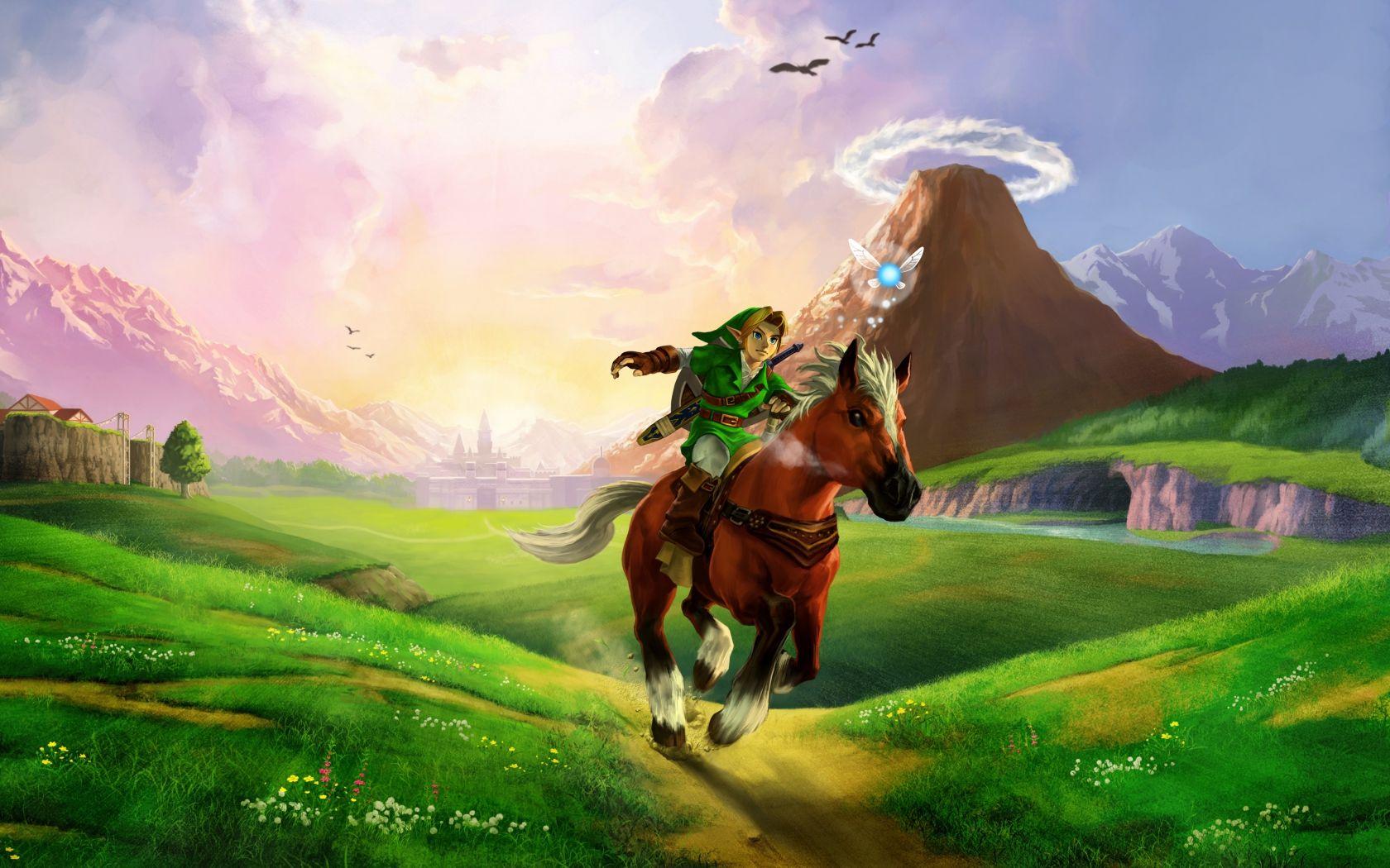 Ocarina Of Time 3d Wallpaper Legend Of Zelda Ocarina Of Time Zelda Art