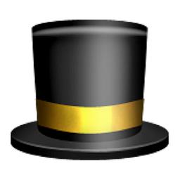 Top Hat Emoji U 1f3a9 U E503 In 2020 Emoji Hat Top Hat Emoji