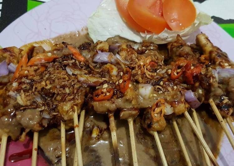 Resep Cara Membuat Sate Ayam Bumbu Kacang Special Masakanmu Com Resep Kacang Resep Masakan Resep