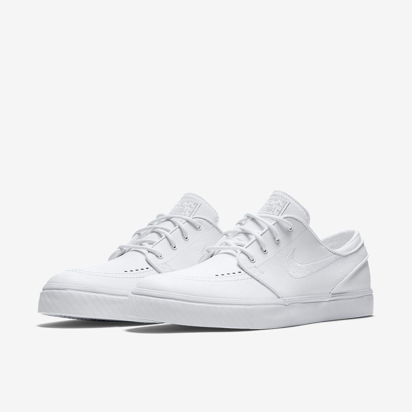 Nike SB Zoom Stefan Janoski Leather Unisex Skateboarding Shoe (Men's  Sizing). Nike.