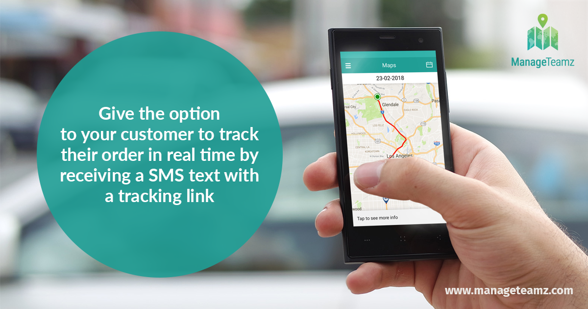 Give the option to your customer to track their order in