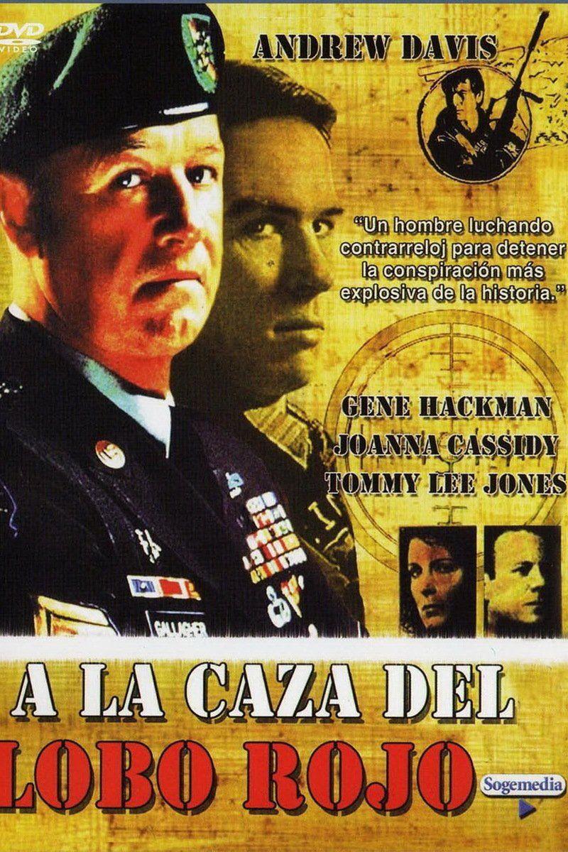 Intriga Acción 1989 A La Caza Del Lobo Rojo Lobo Rojo Películas Completas Caza