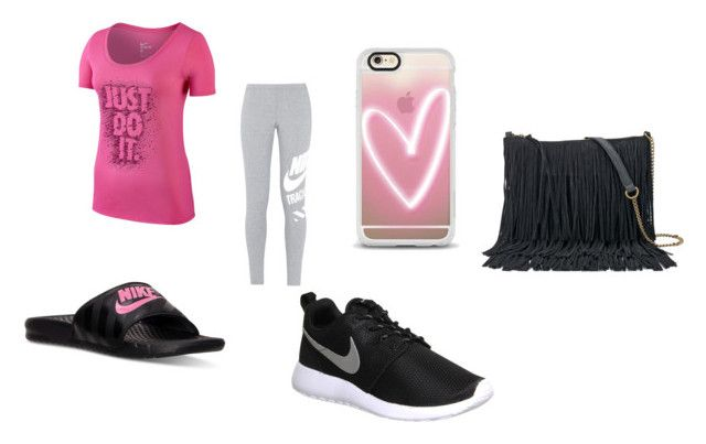 """""""Taking a Walk"""" by lifeissweet170000 ❤ liked on Polyvore featuring NIKE, Casetify and SONOMA Goods for Life"""