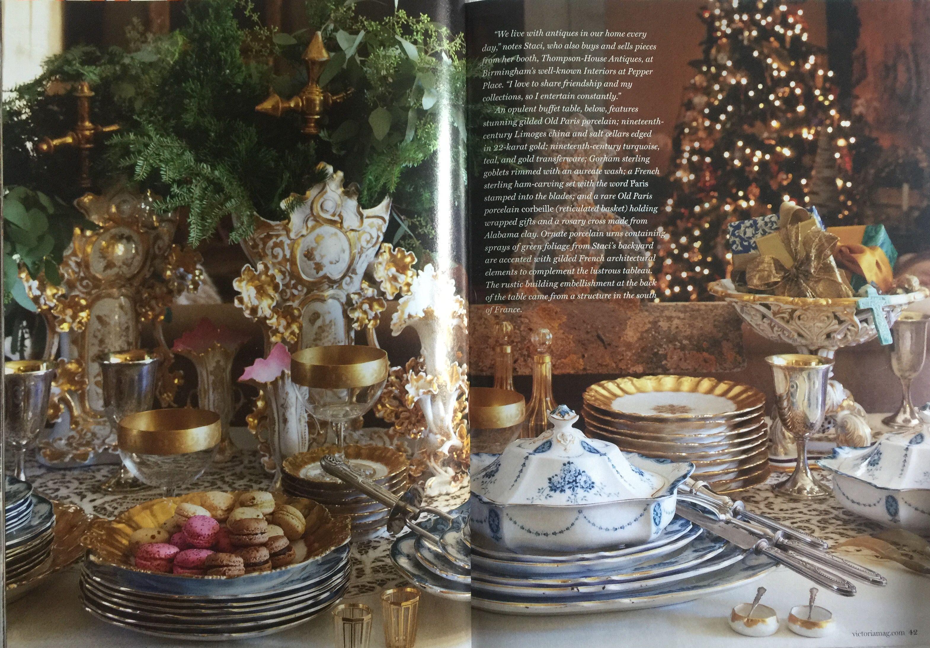 Christmas 2013, Victoria magazine.