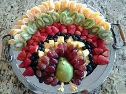 turkey fruit tray - Google Search
