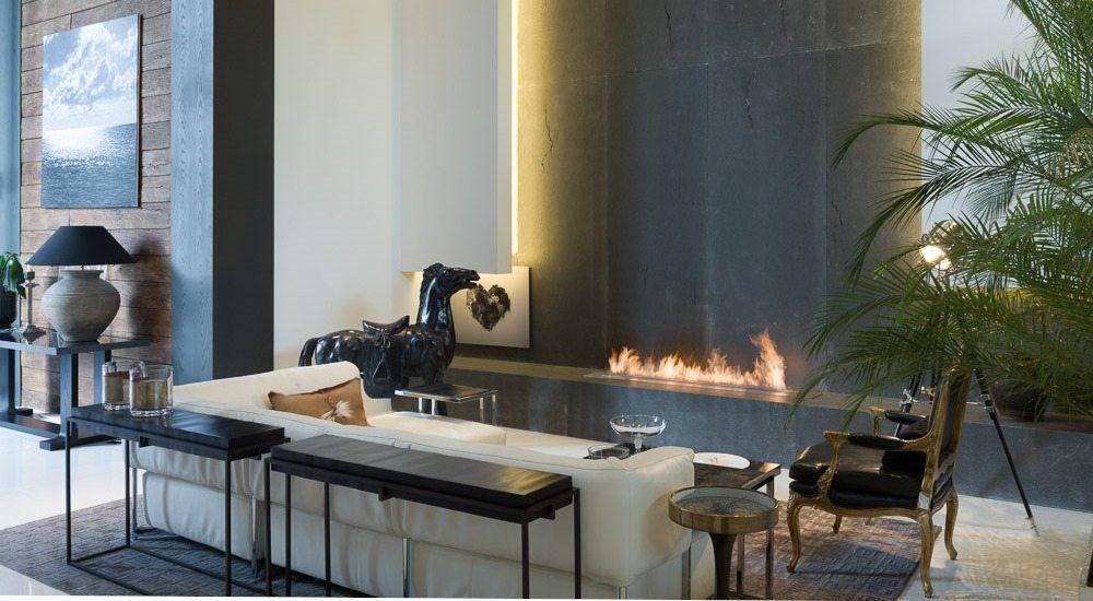 Modern design living room fireplaces smart ethanol burner http www  fireplace com bio for also  foyers