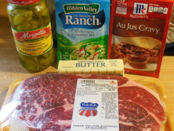 recipe: pepperoncini roast ranch dressing [37]